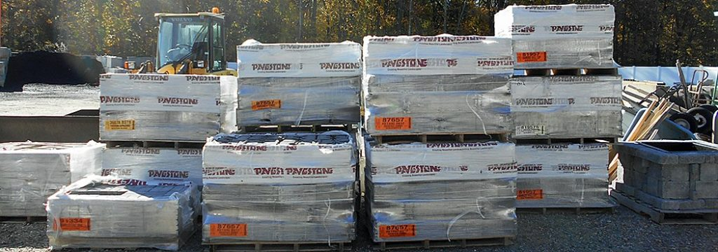 Bulk Pavestone product available for pick up or delivery
